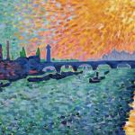 The Edge of Waterloo Bridge